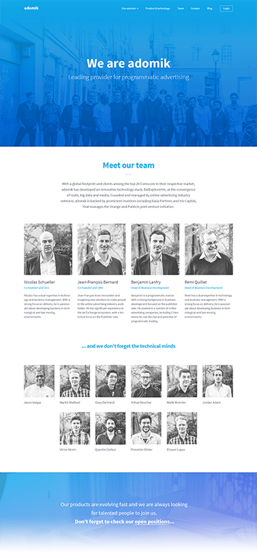 adomik-website-team